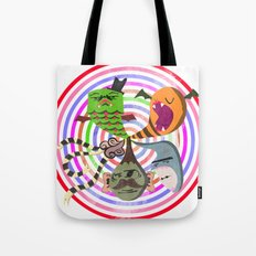 scary makes you happy Tote Bag