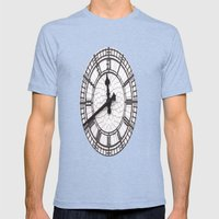 The Countdown is on Mens Fitted Tee Tri-Blue SMALL