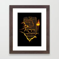 Why Did It Have To Be Snake? Framed Art Print