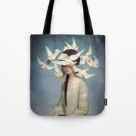 Tote Bag featuring The Beginning by Christian Schloe