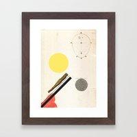 Ratios. Framed Art Print