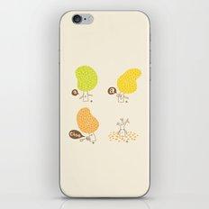 Season Sneeze iPhone & iPod Skin