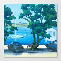 Of Boats and Summer Canvas Print