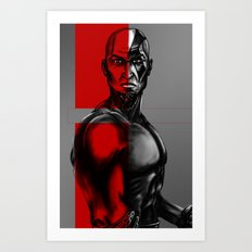 Kratos Art Art Print
