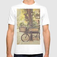 Bike I Mens Fitted Tee SMALL White