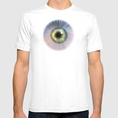 Eye Cosmic Mens Fitted Tee SMALL White