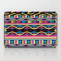 For The Love Of Pattern. iPad Case