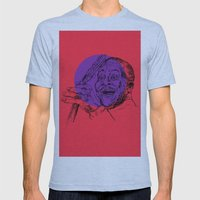 B.B. King Mens Fitted Tee Athletic Blue SMALL