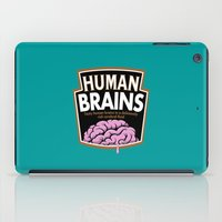 Human Brains iPad Case