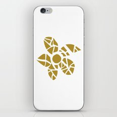 Mosaic Flower iPhone & iPod Skin