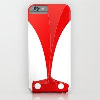 Silhouette Racers - Ferrari 458 iPhone 6 Slim Case