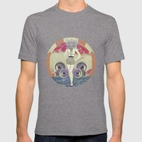UNIVERSOS PARALELOS 003 Mens Fitted Tee Tri-Grey SMALL