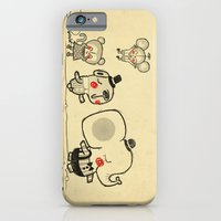 Forest Friends \ Cute Animals March\ elephant cats dogs  iPhone 6 Slim Case