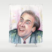 Nicolas Cage You Don't S… Shower Curtain