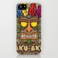 Aku-Aku (Crash Bandicoot… iPhone (5, 5s) Slim Case