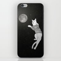 Cat Trying To Catch The … iPhone & iPod Skin