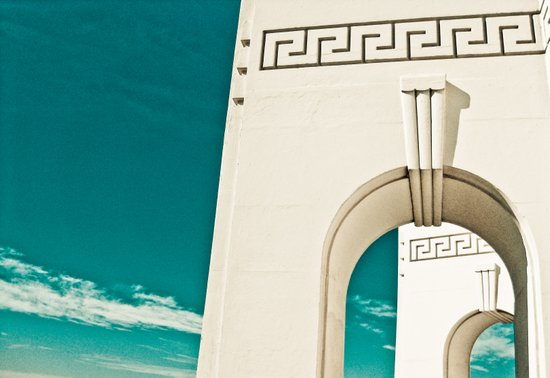 Los Angeles - Griffith Park Observatory Art Print