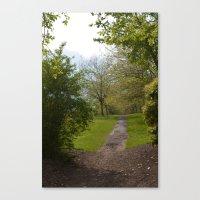 Sefton Park Part 2 Canvas Print