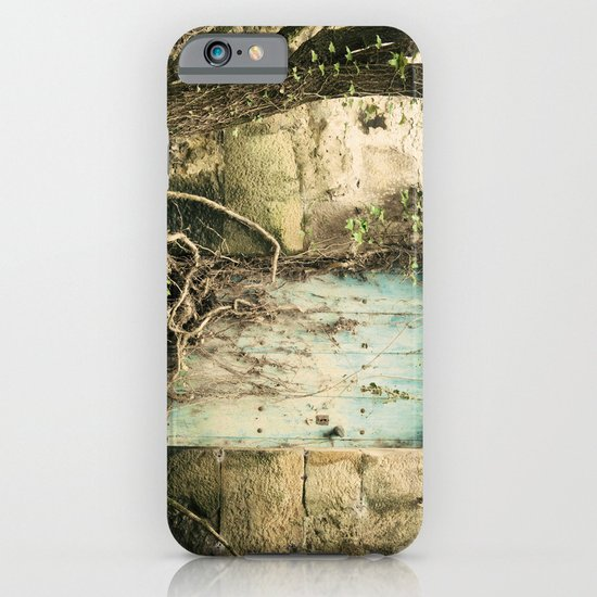 Puerta azul  iPhone & iPod Case