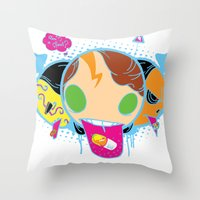 Drugeaters Throw Pillow