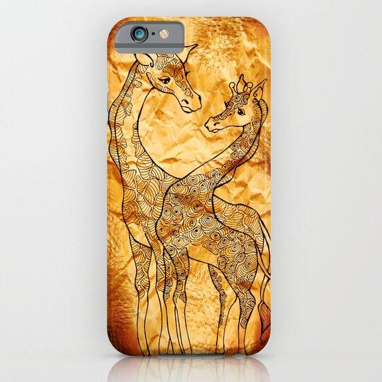 Henna Giraffe iPhone & iPod Case