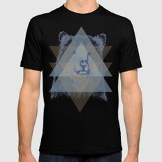 Grizzly Black Mens Fitted Tee SMALL