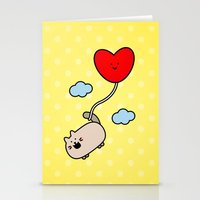 Kimmi's Love Is 0n Cloud… Stationery Cards