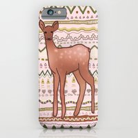 iPhone & iPod Case featuring I Deer You to Dream by Aurora Danenbarger