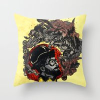 Pipe Of Peace And Love Throw Pillow
