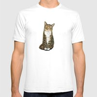 Flora Mens Fitted Tee White SMALL