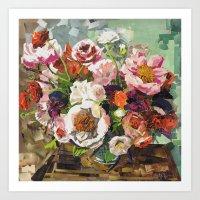 Tin Can Studios Floral 1 Art Print