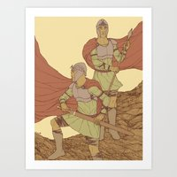 Castor And Pollux (hi-res) Art Print