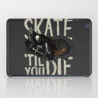 Skate Til' You Die iPad Case