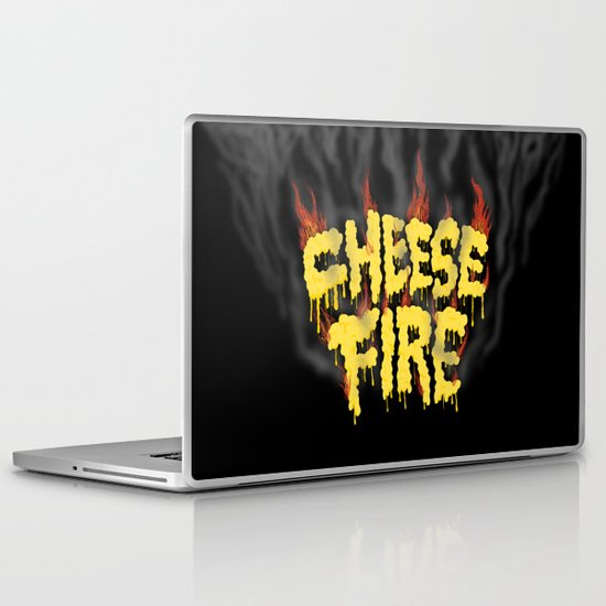 CHEESE FIRE!!! Laptop & iPad Skin