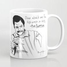 Ron Swanson Drawing Mug