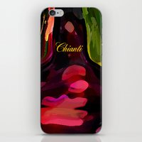YOU ME AND CHIANTI IN THE GARDEN iPhone & iPod Skin