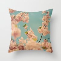 Party in Pink Throw Pillow