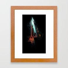 Minecraft ! Framed Art Print