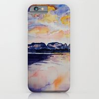 iPhone & iPod Case featuring Sleeping Giant  by Leanna Rosengren