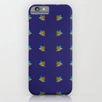 iPhone & iPod Case featuring bird pattern by Thefunctionalfox