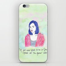 April Ludgate 2 iPhone & iPod Skin