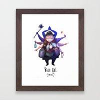Folkbol Ek Framed Art Print