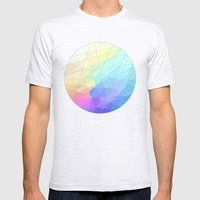 Spectrum Mens Fitted Tee Ash Grey SMALL