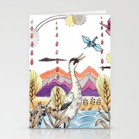Crane Gang Stationery Cards