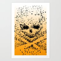 10000 Birds  Art Print