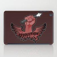 Viva La Resolution! iPad Case