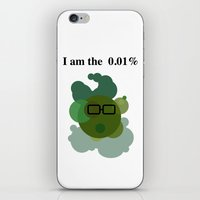 Wall Street Bacteria iPhone & iPod Skin