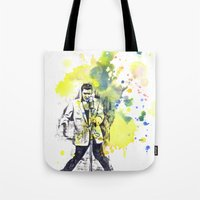 Elvis Presley Dancing Tote Bag