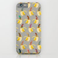 iPhone & iPod Case featuring Anna Banana by Bianca Green