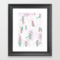 GRAPHIC. Print, Pattern,… Framed Art Print